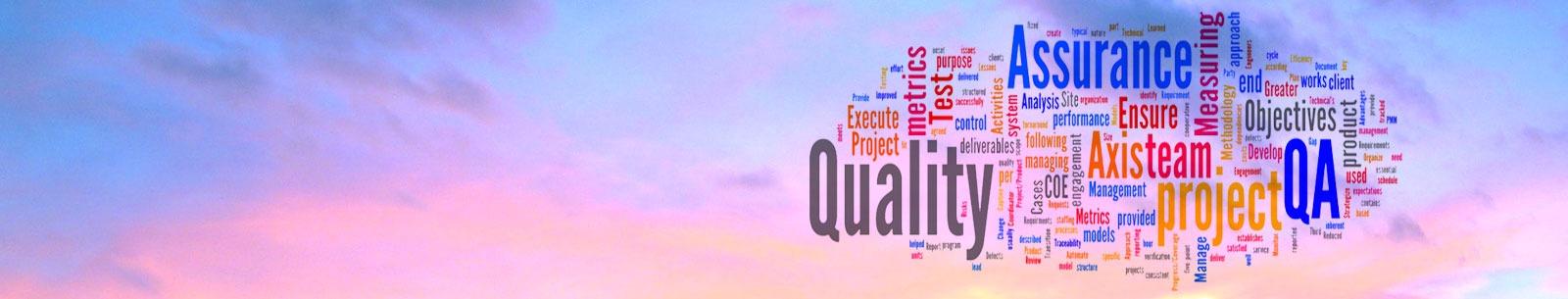 Quality Assurance Header