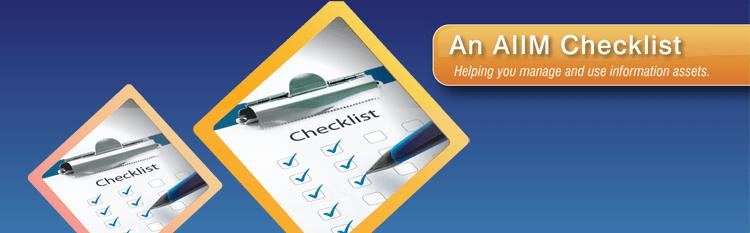 AIIM Check List